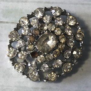 Sparkle and Shine Rhinestone Brooch